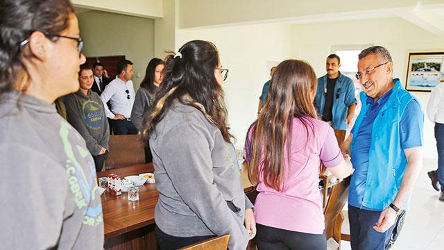 Türkiye'den KKTC'ye gençlik kampı