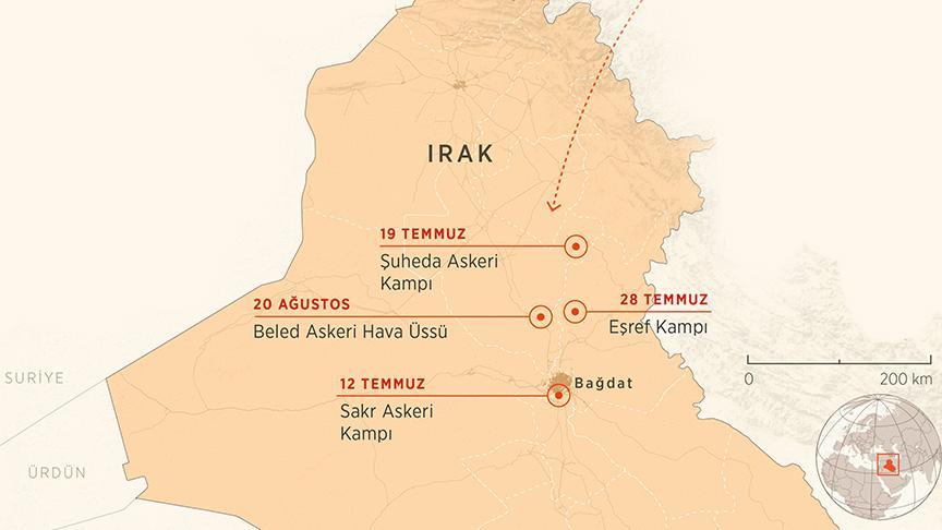 Irak'ta Haşdi Şabi, üslerine düzenlenen saldırılardan ilk kez İsrail'i suçladı