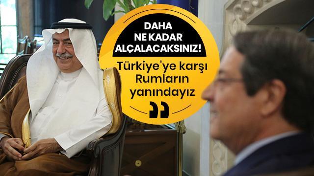 Suudi Arabistan'dan Türkiye'ye karşı hadsiz sözler: Rumların yanındayız