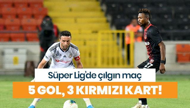 Beşiktaş, Antep deplasmanında kayıp