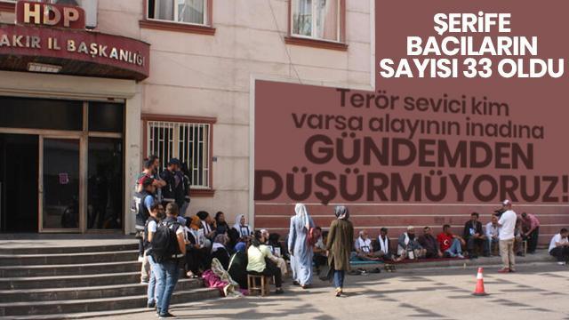Diyarbakır HDP önünde nöbet tutan ailelerin sayısı 33'e yükseldi