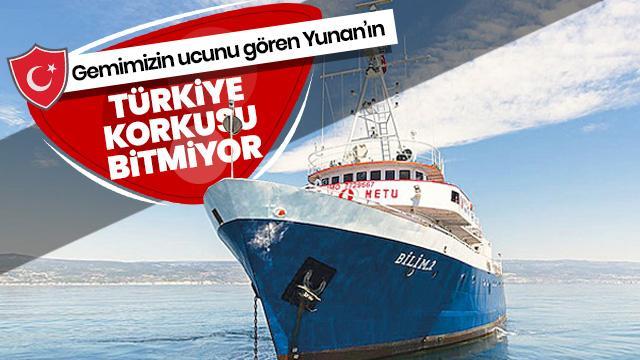 Yunanlılar o gemiyi görünce panikledi!