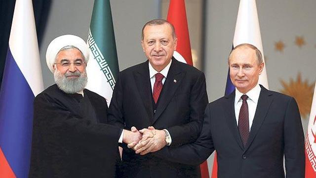 Astana formatında 5'inci Üçlü Zirve Toplantısı yarın Ankara'da gerçekleştirilecek