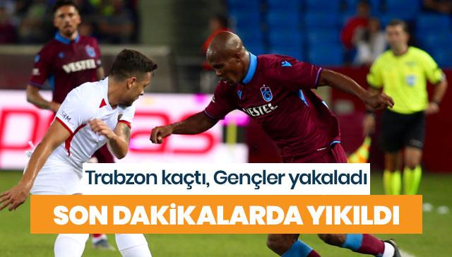 Trabzonspor yine kayıp