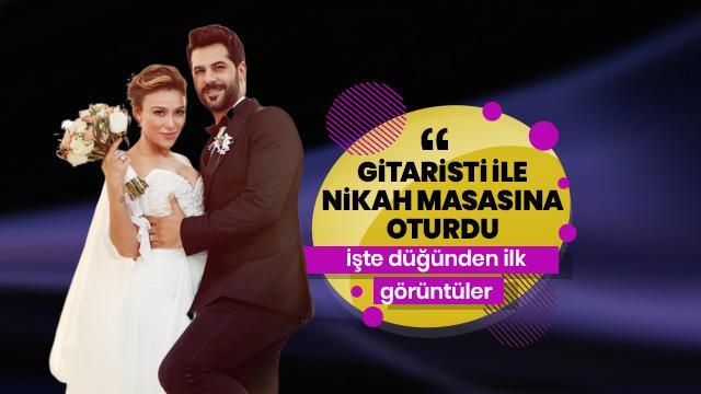 Ziynet Sali gitaristi Erkan Erzurumlu ile Kıbrıs'ta nikah masasına oturdu!