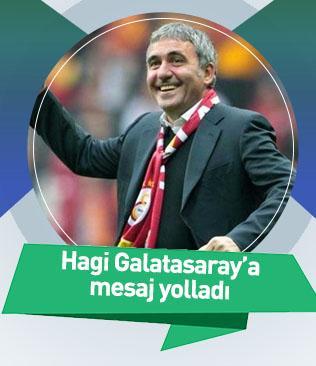 Hagi Galatasaray'a mesaj yolladı