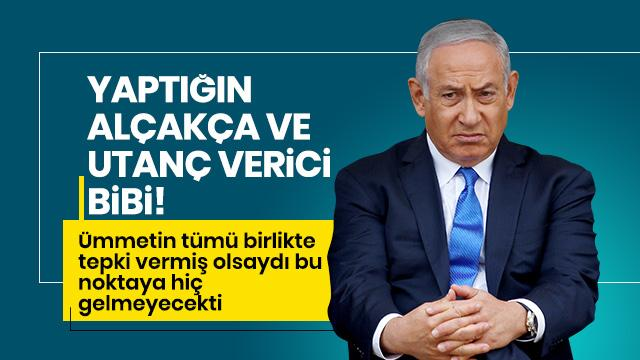 Ankara'dan katil İsrail'e tepki