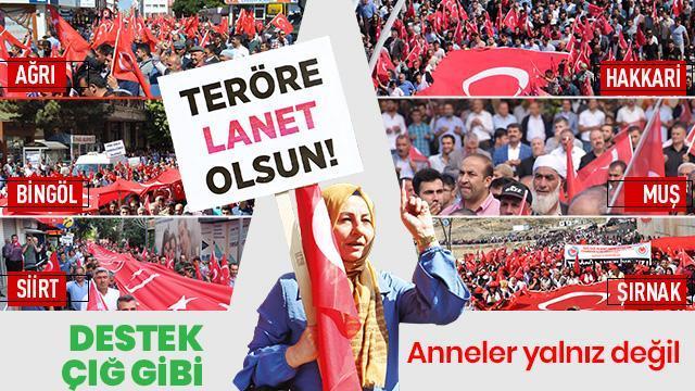 PKK'ya lanet yağdı