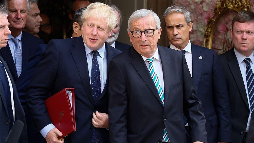 Juncker ile Johnson ilk kez görüştü