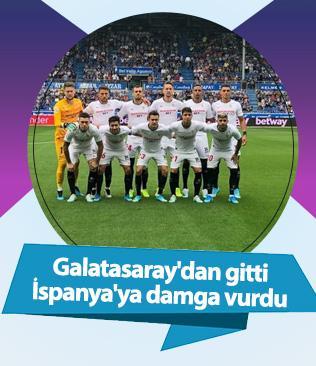Galatasaray'dan gitti İspanya'ya damga vurdu