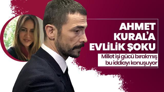 Ahmet Kural'a evlilik şoku!