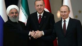 Cumhurbaşkanlığı'ndan üçlü zirve paylaşımı: Türkiye barışa katkı sunmayı sürdürüyor