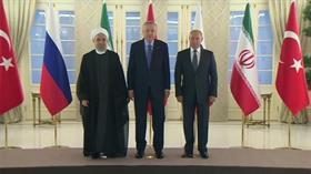 """Ankara'da üçlü Suriye zirvesi sona erdi! Başkan Erdoğan """"önemli kararlar aldık"""" açıklamasında bulundu"""