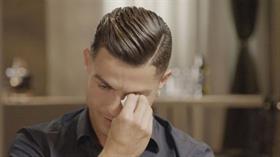 Cristiano Ronaldo babasıyla ilgili konuşurken gözyaşlarına boğuldu