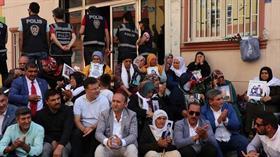 Diyarbakır'da evlat nöbeti tutan aileleri tehdit eden Süleyman Büyük, tutuklandı