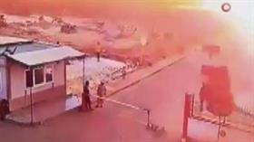 Halep kentine bağlı Çobanbey'deki bombalı saldırının görüntüleri ortaya çıktı