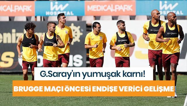 G.Saray'da henüz hazır olmayan futbolcuların durumları teknik heyeti düşündürüyor