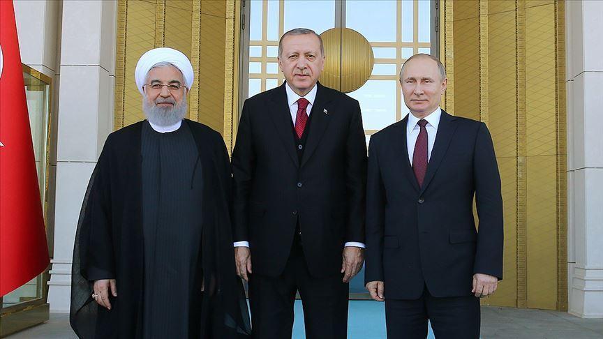 Erdoğan ile Ruhani arasındaki ikili görüşme başladı