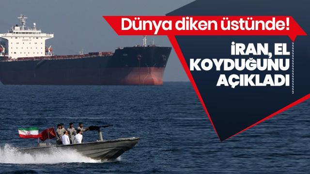 Son Dakika: İran, Körfez'de bir tankere el koydu!