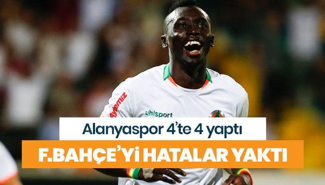 Alanyaspor'a Fenerbahçe de direnemedi