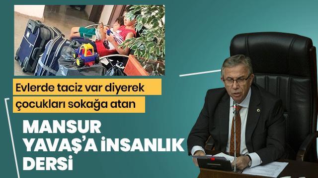 Mansur Yavaş'a insanlık dersi: Mamak Belediyesi çocuklara sahip çıktı