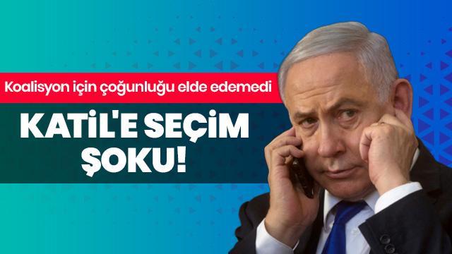 Çocuk katili Netanyahu koalisyonu kuracak çoğunluğu elde edemedi!