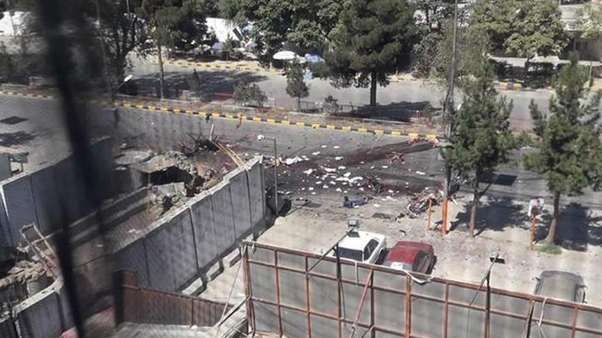 Afganistan'da Cumhurbaşkanı Gani'nin mitinginde patlama!