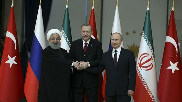 İranlılar: Suriye'deki çözüm için Rusya, Türkiye ve İran ortak hareket etmeli