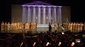 Uluslararası Aspendos Opera ve Bale Festivali'nde Troya rüzgarı esti