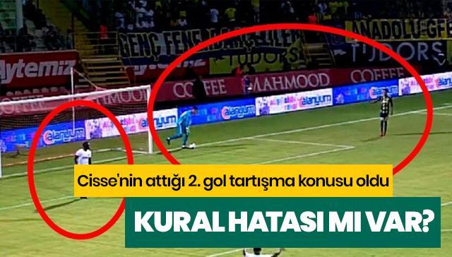 Alanyaspor'un attığı 2. gol tartışma konusu oldu! Kural hatası mı var?