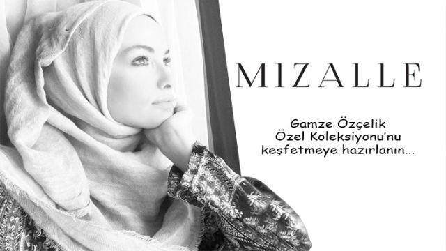 Gamze Özçelik'ten Mizalle için sonbahar kış koleksiyonu hazırladı