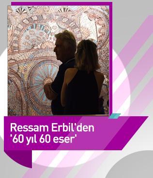 Ressam Devril Erbil'den '60 yıl 60 eser'