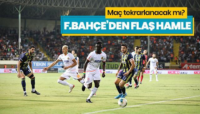 Maç tekrarlanacak mı? Fenerbahçe'den flaş hamle!