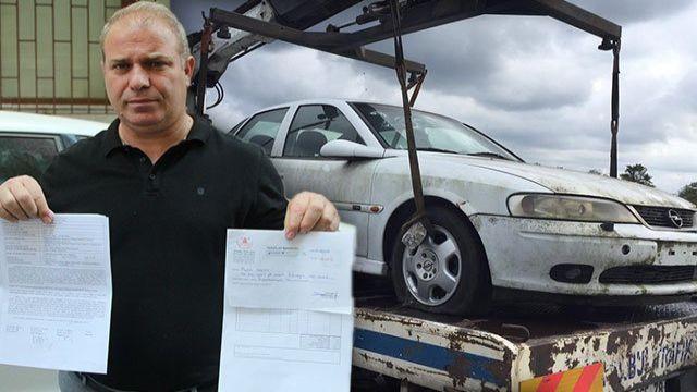 Arabasını 12 yıl sonra otoparkta buldu! 32 bin liralık borcu öğrenince ise şok yaşadı