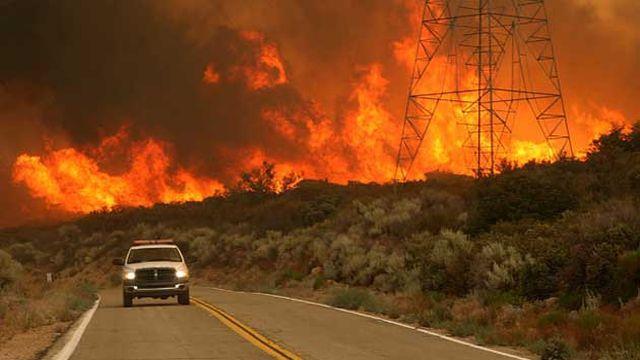 Hatay'da 25 farklı noktada orman yangını.