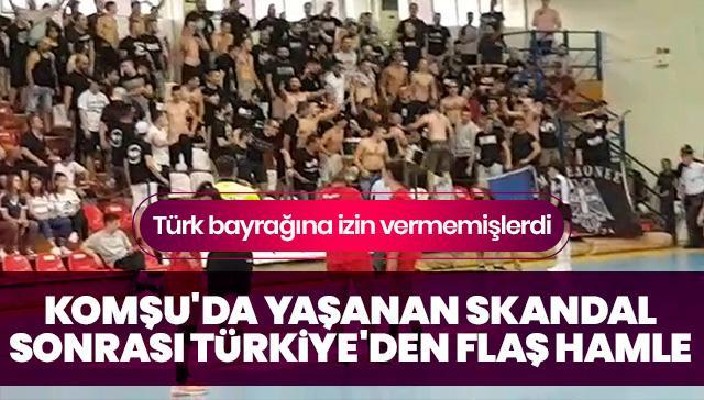 Komşu'da yaşanan skandal sonrası Türkiye'den flaş hamle