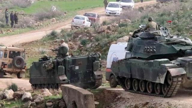 MİT ve emniyetten Afrin'de terör operasyonu: 9 şüpheli gözaltına alındı