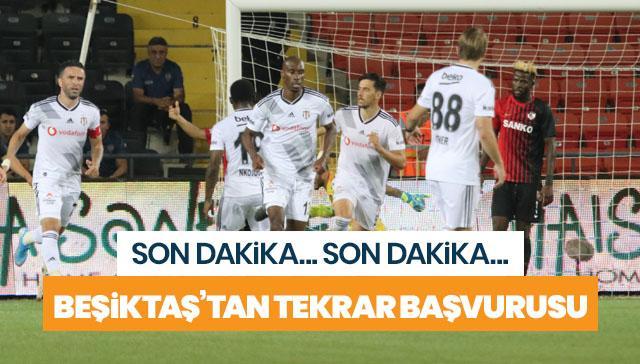Beşiktaş maç tekrarı için TFF'ye başvuracak