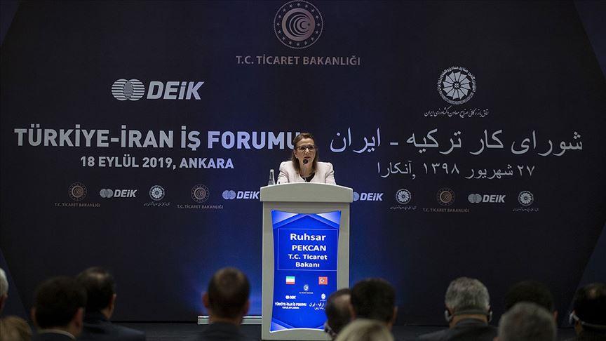 Ticaret Bakanı Pekcan: Türkiye-İran ilişkileri iş dünyasının önünü açıcı bir yön alıyor