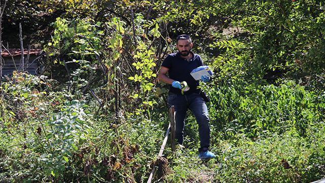 Zonguldak'ta 5 gündür aranan kadının üzeri çalılarla kapatılmış cesedi bulundu