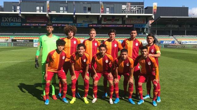 Galatasaray U19 takımı, Club Brugge'e kaybetti