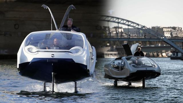 """""""Uçan"""" taksi Fransa'da test edildi"""