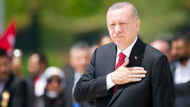 Cumhurbaşkanı Erdoğan'dan Şaziye'ye kutlama