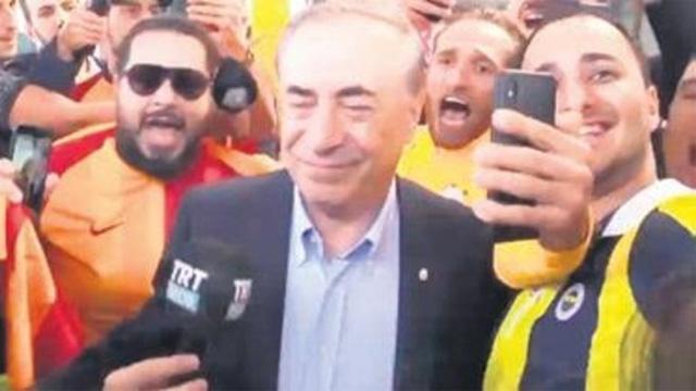Fenerbahçeli taraftarlardan Mustafa Cengiz'e destek mesajı