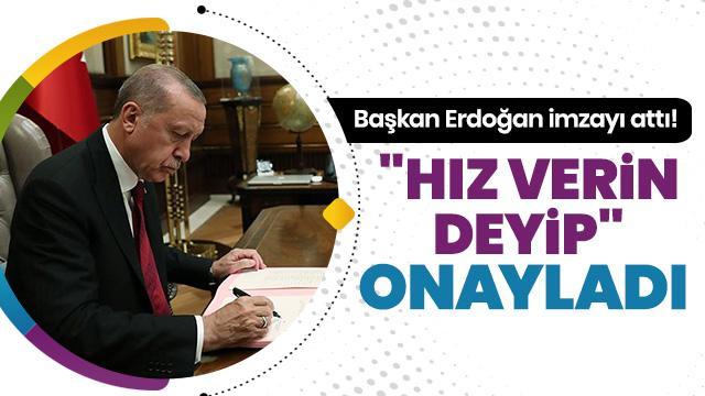 Erdoğan onayladı, kritik genelge yayımlandı
