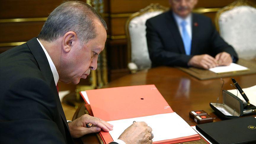 Başkan Erdoğan'dan 'AB ile Vize Serbestisi Diyaloğu Süreci' genelgesi