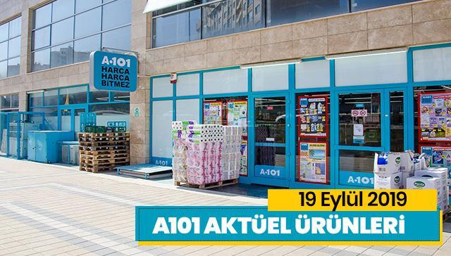 A101 19 Eylül aktüel ürünler kataloğu! İşte 19 Eylül'de A101'e gelen ürünler