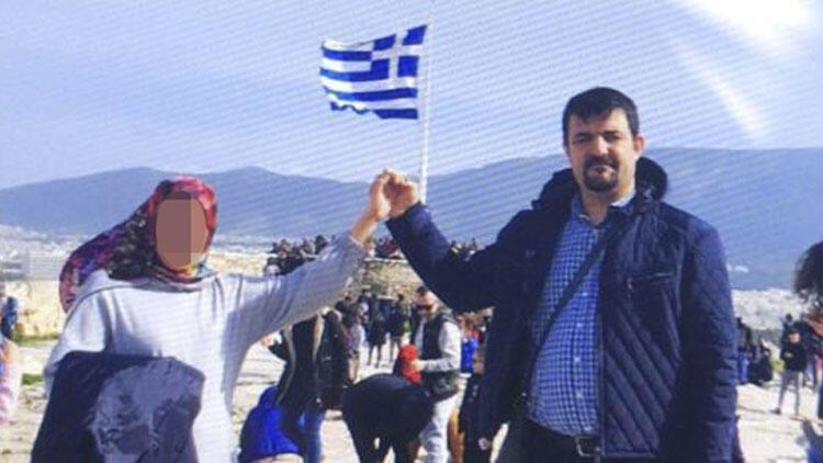Yunanistan'a kaçtı! Bu pozla birlikte bakın neler yazdı