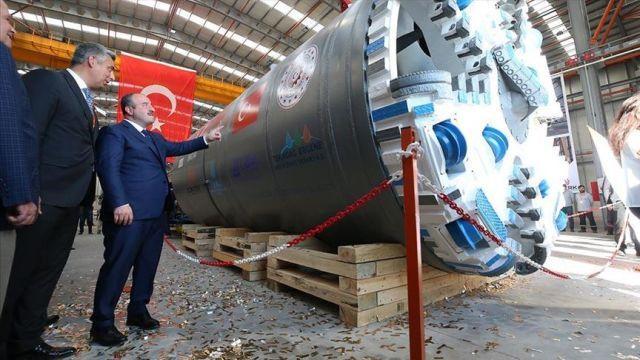 Yerli tünel açma makinesı üretildi! Dünyada 7 ülkede var...