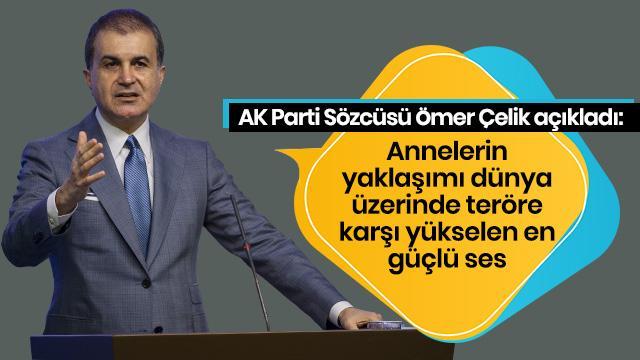 AK Parti Sözcüsü Çelik'ten önemli açıklamalar!